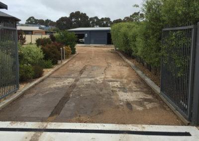 Newlands Arm concrete driveway 2