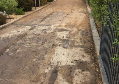 Newlands Arm concrete driveway 3