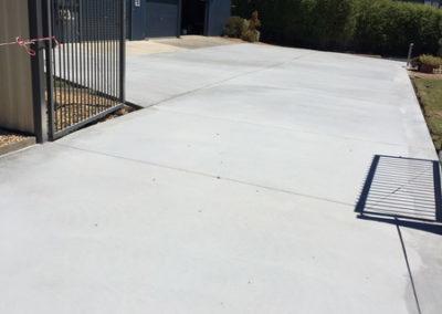 Newlands Arm concrete driveway 4