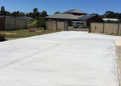 Newlands Arm concrete driveway 5