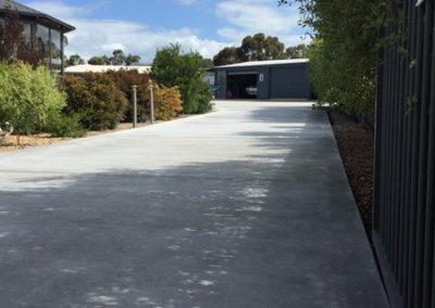 Newlands Arm concrete driveway 7