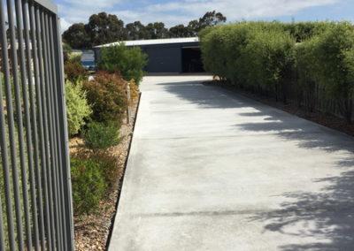 Newlands Arm concrete driveway 8